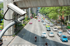 CCTV Camera royalty free stock photography