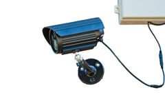 CCTV camera watching for security 24 hours Stock Photos