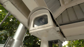 CCTV cameras. Recorded the events that occur Stock Photography