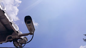 CCTV. Cameras recorded the events that occur Royalty Free Stock Photos