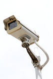 CCTV. Closed-circuit television with stand alone Stock Image