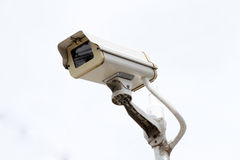 CCTV. Closed-circuit television with stand alone Royalty Free Stock Photo