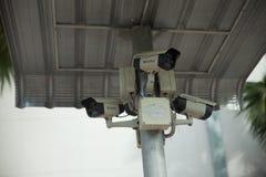 CCTV com protetor da tampa Fotografia de Stock