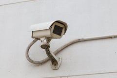 CCTV da câmara de segurança Fotos de Stock Royalty Free