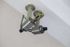 CCTV de la cámara de seguridad Fotos de archivo libres de regalías