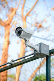 CCTV della videocamera di sicurezza Fotografia Stock Libera da Diritti