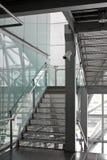 CCTV della videocamera di sicurezza sulla scala Immagini Stock Libere da Diritti