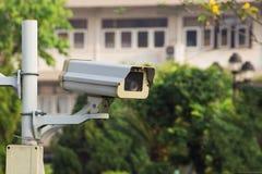 CCTV säkerhetskamera Royaltyfri Foto