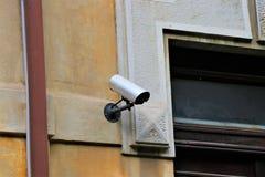 CCTV, External Video Camera, Property Survelliance. stock photo