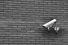 CCTV, External Video Camera, Property Survelliance. stock image