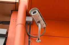 CCTV för säkerhetskamera Arkivbilder