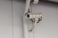 CCTV för säkerhetskamera Arkivfoto