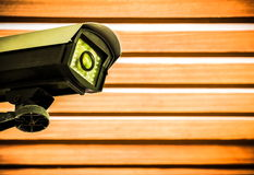 CCTV in factory Stock Photography