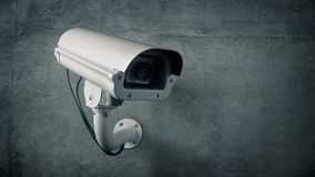 CCTV fuori del ciclo lampeggiante della costruzione