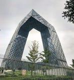 CCTV headquarters Stock Image