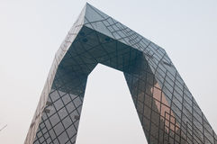 CCTV Headquarters Stock Photos