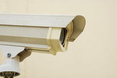 CCTV In The Village Royalty Free Stock Photo