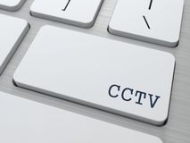 CCTV.  Information Concept. Royalty Free Stock Image