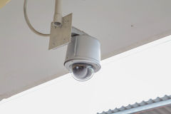 CCTV. Installed in the station Stock Image