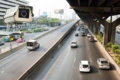 CCTV inwigilaci lub kamery działanie Obrazy Stock