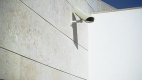 CCTV kamera na budynku zbiory