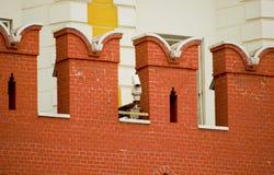CCTV kamera na ścianie Moskwa Kremlin Zdjęcie Stock
