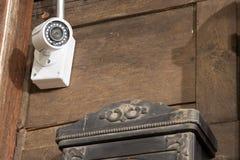Cctv-kameran Arkivfoto