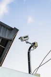 CCTV kamery obrazy stock