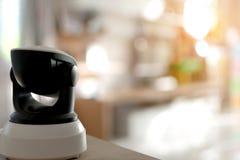 CCTV kamery bezpieczeństwa działanie w domu Obraz Stock