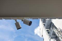 Cctv kamery system zdjęcie stock