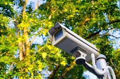 CCTV  monitor camera Stock Image
