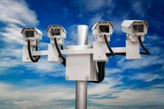 CCTV monitorowanie kamery bezpiecze?stwe obraz stock