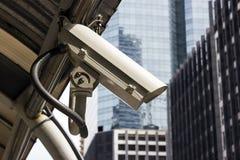 CCTV na cidade imagens de stock