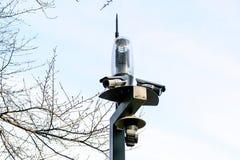CCTV no parque Fotografia de Stock