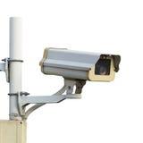CCTV ou câmara de segurança Foto de Stock Royalty Free