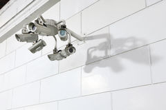 CCTV at outdoor Stock Images