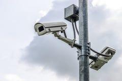 CCTV. At the park, Bangkok, Thailand Stock Images