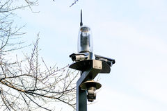 CCTV in the park. Stock Photography