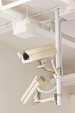CCTV for record everthing inside building Royalty Free Stock Photography