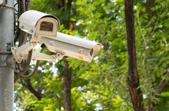 CCTV recording important events Stock Images