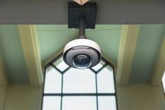 Cctv-säkerhetskamera som fungerar i hem Bild av CCTV-säkerhet c Arkivbilder
