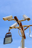 CCTV security cam Stock Photography