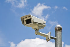 CCTV security camera Royalty Free Stock Photo