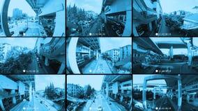 CCTV security camera stock footage