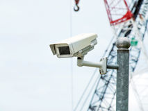 Cctv security camera Royalty Free Stock Image