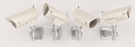 CCTV Security Camera Stock Images