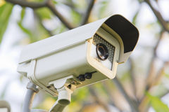 CCTV Security camera. Royalty Free Stock Photography