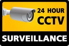 CCTV Security Camera. 24 Hour Surveillance Royalty Free Stock Photos