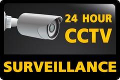 CCTV Security Camera. 24 Hour Surveillance Royalty Free Stock Image