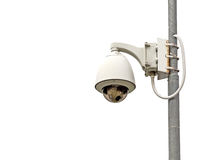 CCTV. Or security camera isolated over white background Royalty Free Stock Photos